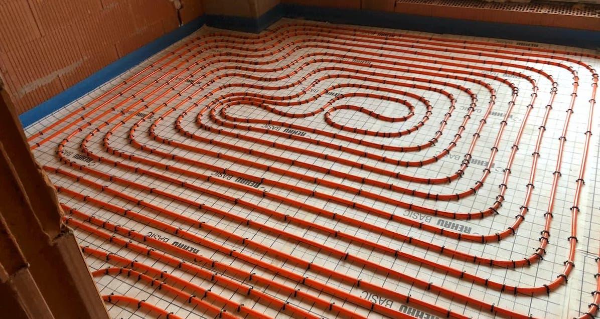 rúrky na podlahové vykurovanie
