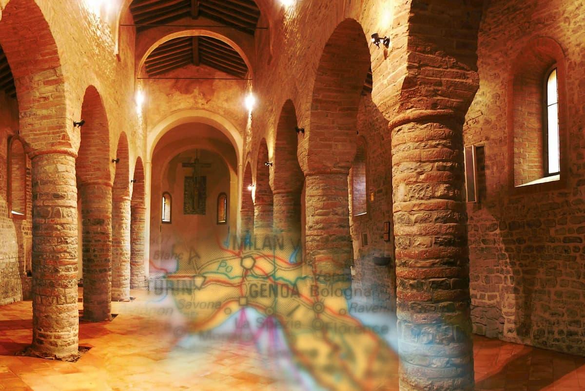 Podlahové kúrenie a Rimania