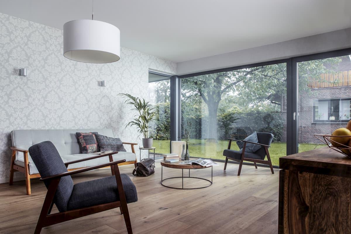 podlaha v miestnosti s podlahovým vykurovaním
